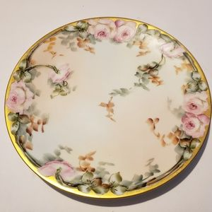 Hand painted Bavaria  M.Oggle signed Plate 9""